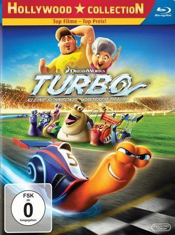Blu-ray »Turbo - Kleine Schnecke, grosser Traum«