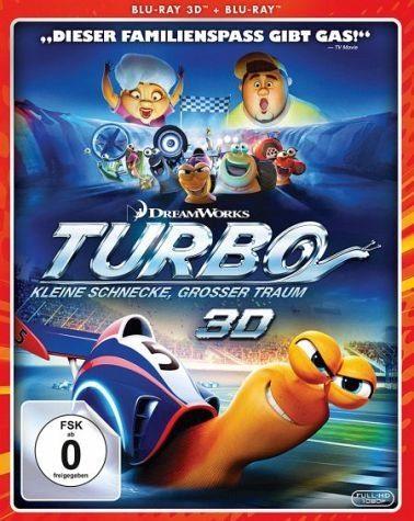 Blu-ray »Turbo - Kleine Schnecke - großer Traum 3D«