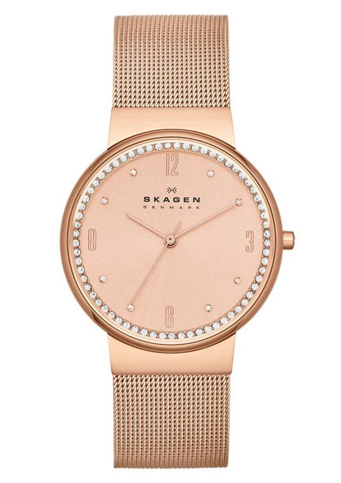 "Skagen, Armbanduhr, ""ANCHER, SKW2130"" in roségoldfarben"