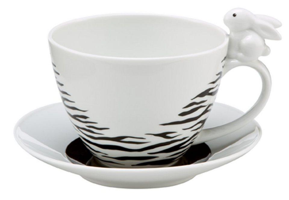 Tasse, »Zebra Bunny«, Goebel in bunt