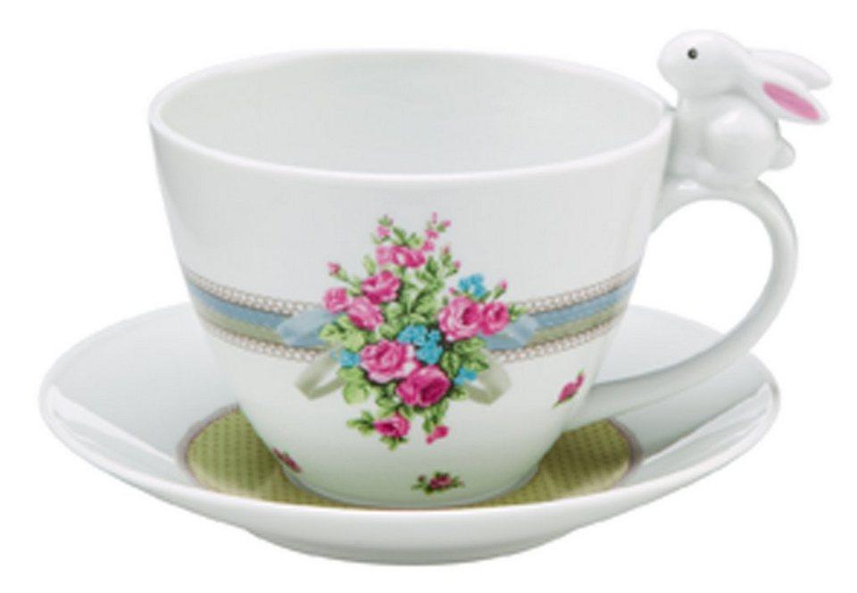 Tasse, »Bloom Bunny«, Goebel in bunt