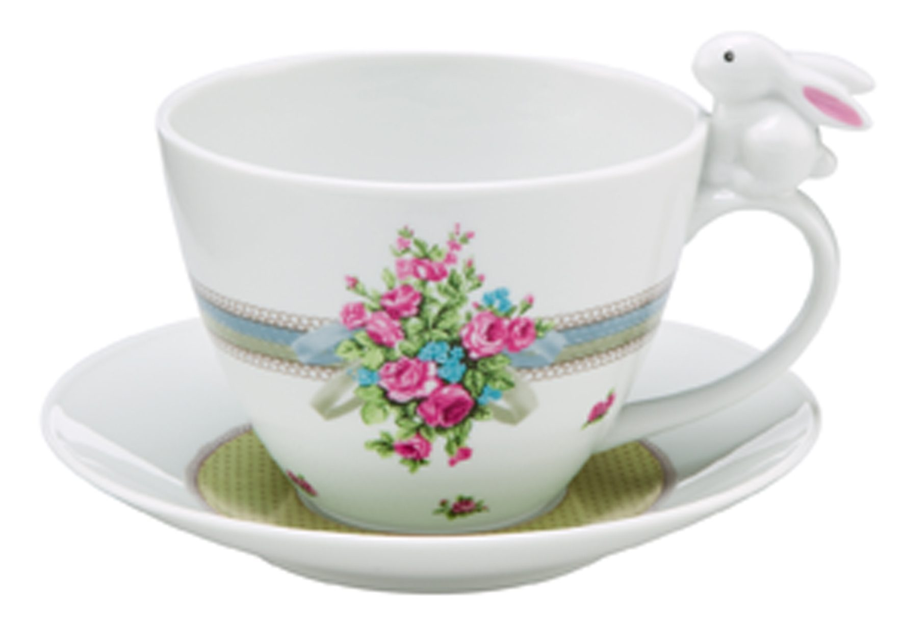 Tasse, »Bloom Bunny«, Goebel