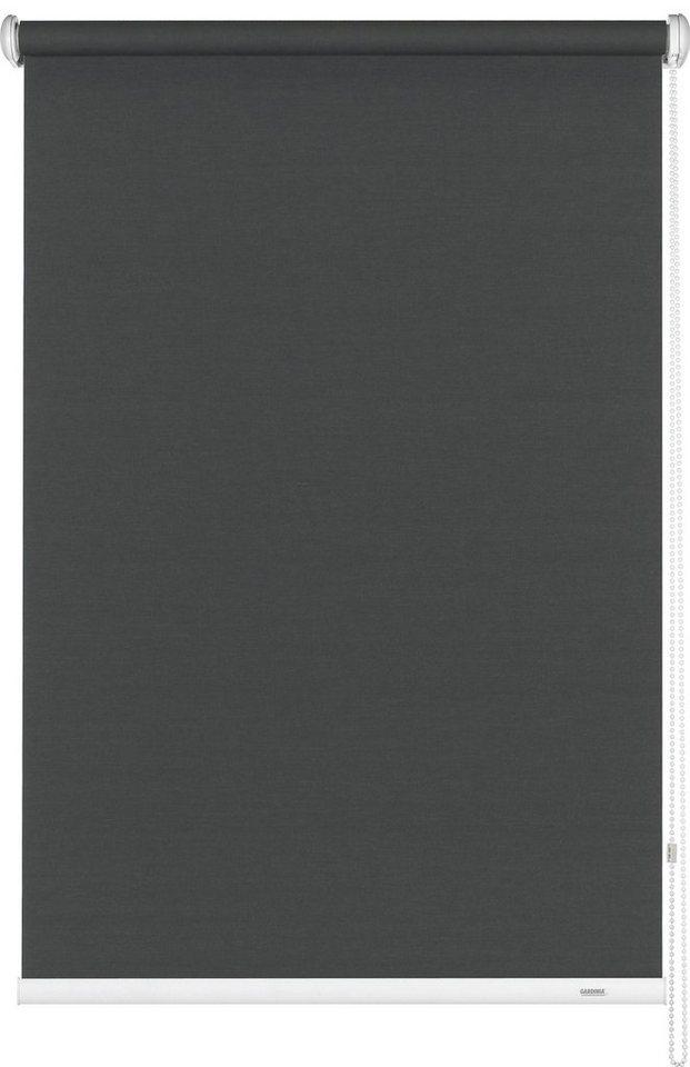 Seitenzugrollo, Gardinia, »Seitenzugrollo im Fixmaß«, Lichtschutz (1 Stck.) in grau