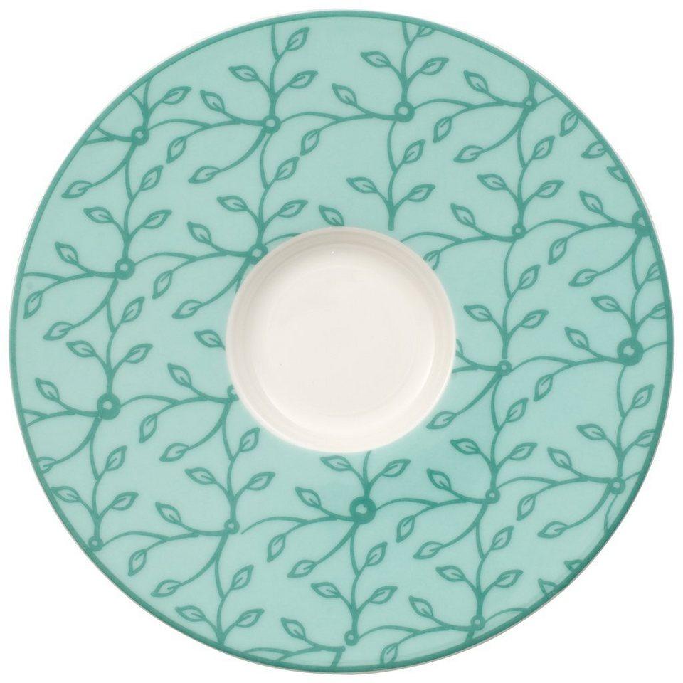 villeroy boch kaffeeuntertasse caff club floral peppermint online kaufen otto. Black Bedroom Furniture Sets. Home Design Ideas