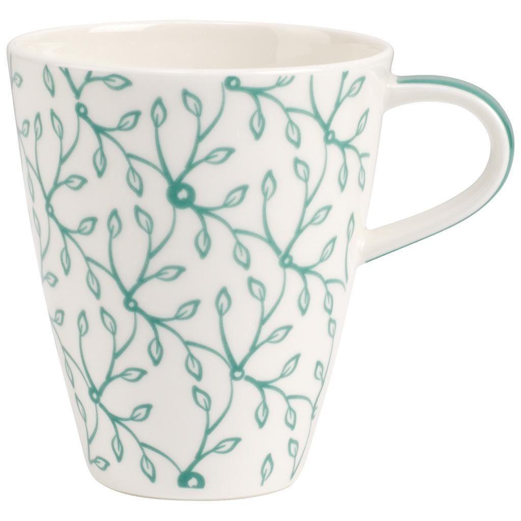 VILLEROY & BOCH Becher mit Henkel »Caffè Club Floral peppermint«