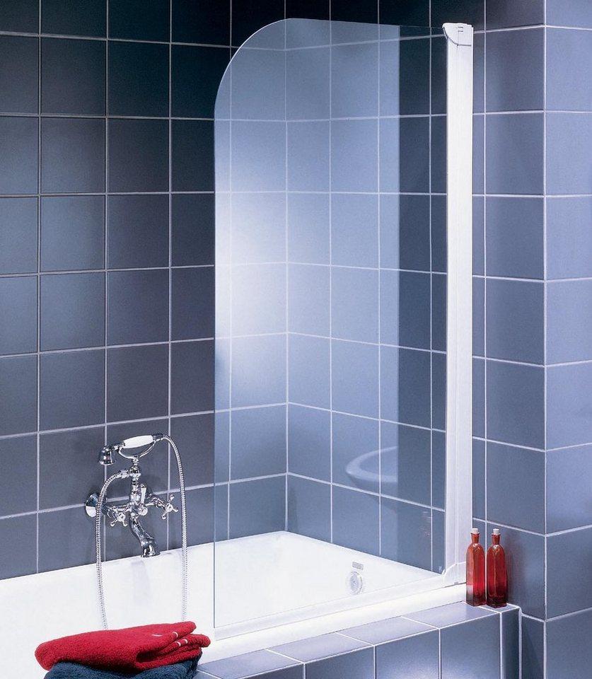 Badewannenaufsatz »Liane« in silberfarben