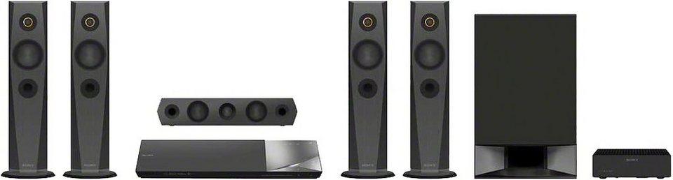 Sony BDV-N7200W Heimkinosystem, Blu-ray-Player, 1.200 W, 3D-fähig, WLAN, NFC, Bluetooth in schwarz