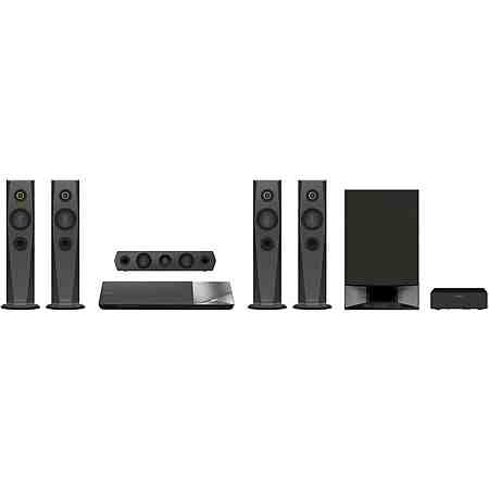 Sony BDV-N7200W Heimkinosystem, Blu-ray-Player, 1.200 W, 3D-fähig, WLAN, NFC, Bluetooth