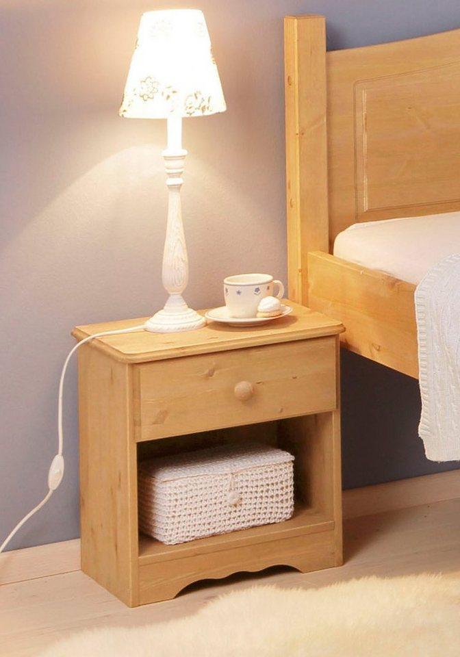 nachttisch home affaire emden online kaufen otto. Black Bedroom Furniture Sets. Home Design Ideas