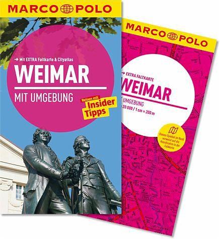 Broschiertes Buch »Marco Polo Reiseführer Weimar mit Umgebung«