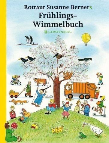 Gebundenes Buch »Frühlings-Wimmelbuch«