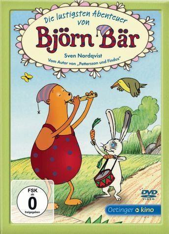 DVD »Die lustigen Abenteuer von Björn Bär (nur für...«