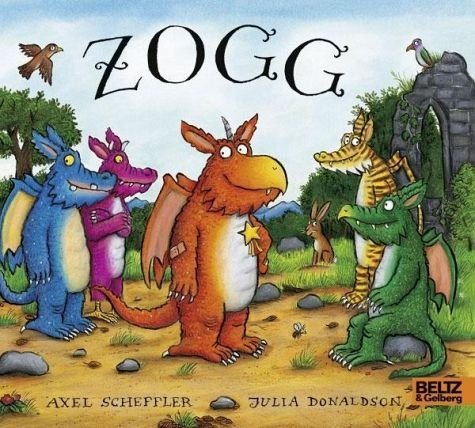 Buch mit Papp-Einband »Zogg«