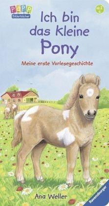 Buch mit Papp-Einband »Ich bin das kleine Pony«