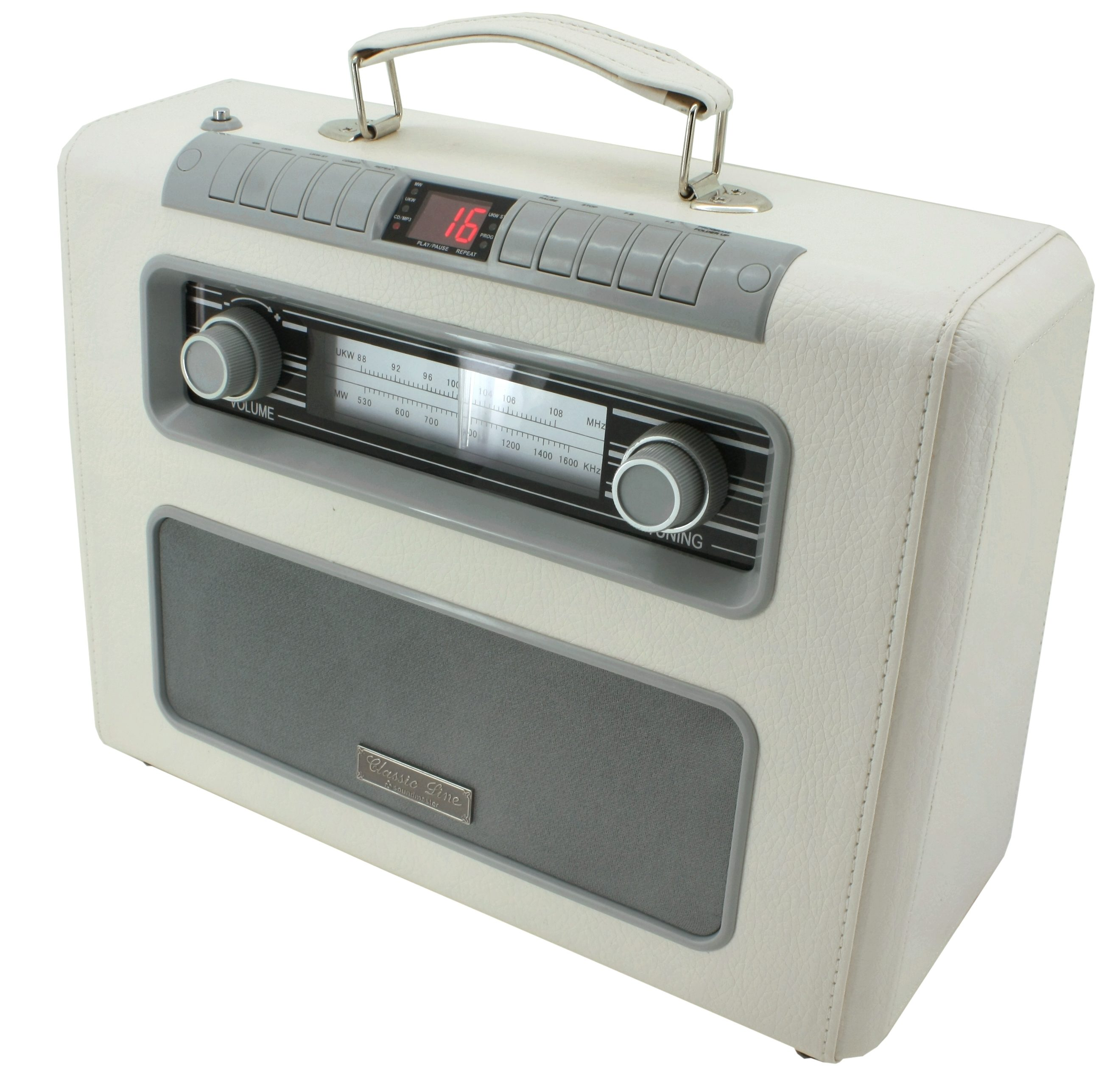soundmaster CD-Radio tragbar »RCD1500BE«