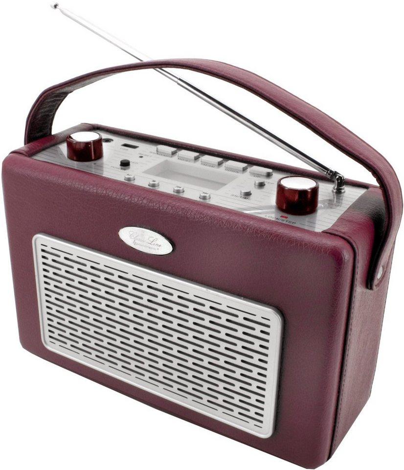 soundmaster Transistorenradio »TR50BO« in Bordeaux