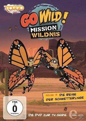 DVD »Go Wild! Mission Wildnis - Folge 3: Die Reise...«