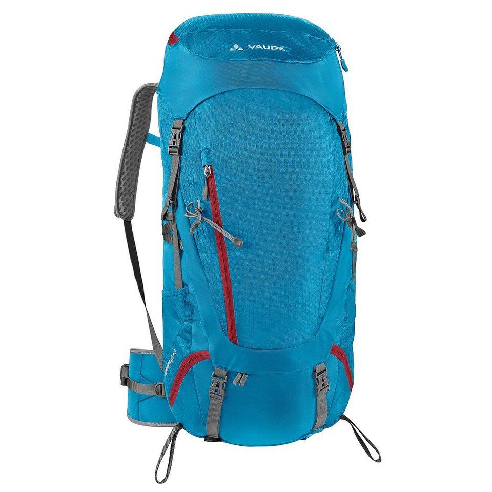 VAUDE Wanderrucksack »Asymmetric 48+8 Backpack Women« in blau