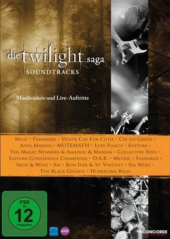 DVD »Die Twilight Saga: Soundtracks, Musikvideos...«