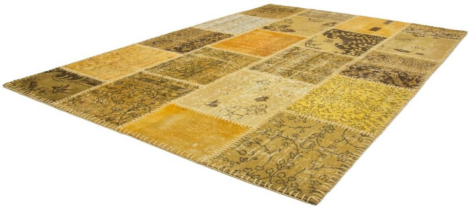 Teppich, Obsession, »Atlas 560« handgeknotet, Wolle online