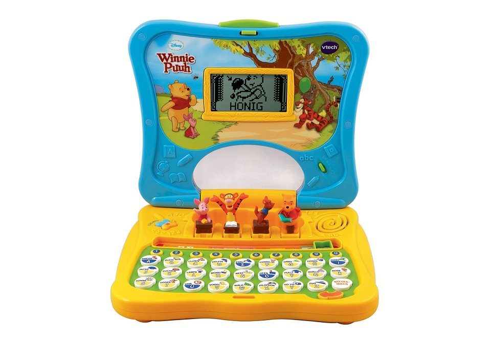 VTech Kindercomputer, »Winnie Puuh ABC-Laptop«