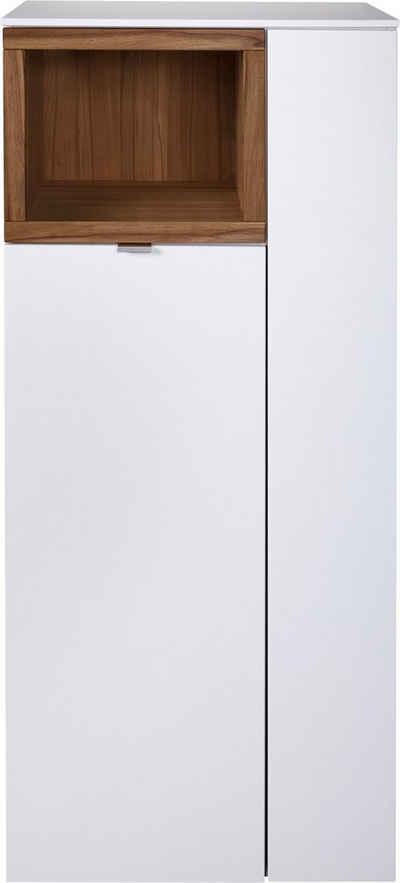 VENJAKOB Highboard »Andiamo«, mit kontrastfarbener Absetzung, Breite 60 cm
