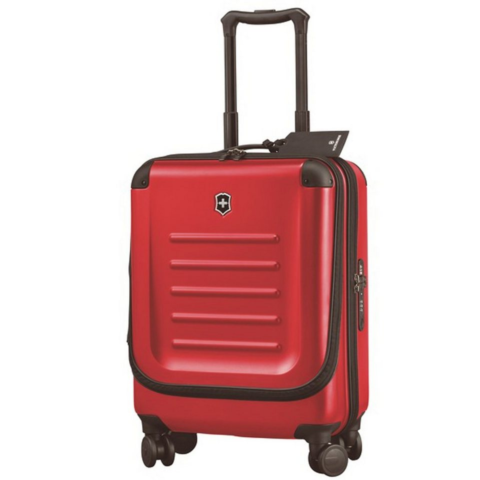 Victorinox Spectra 2.0 Dual-Access Global Carry-On 4-Rollen Kabinentrolley in red