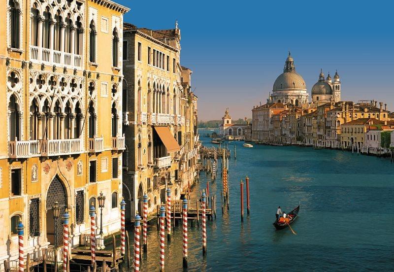 Fototapete, Komar, »Venezia« in blau/beige