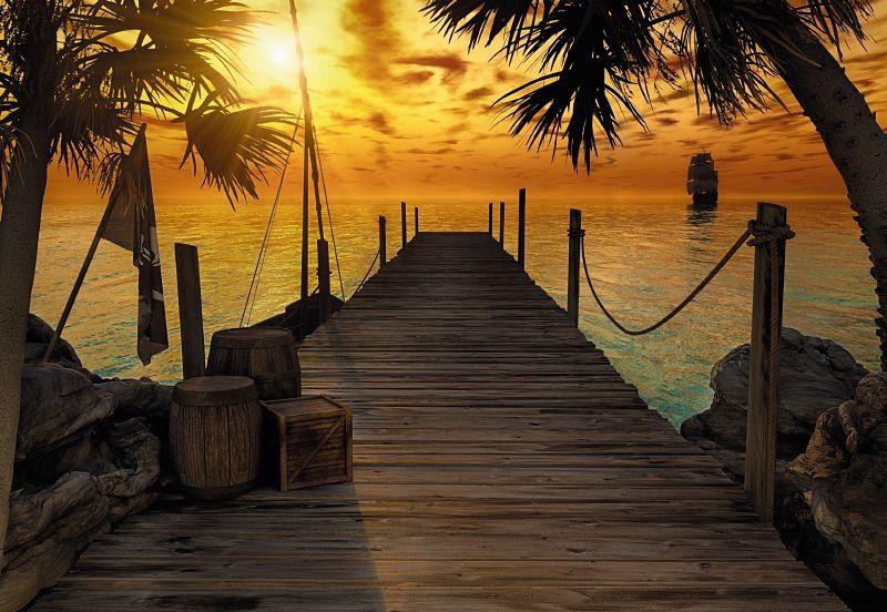 Fototapete, Komar, »Treasure Island«, 368/254 cm