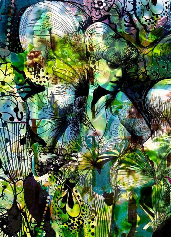 Fototapete, Komar, »Aphrodite´s Garden«, 184/254 cm