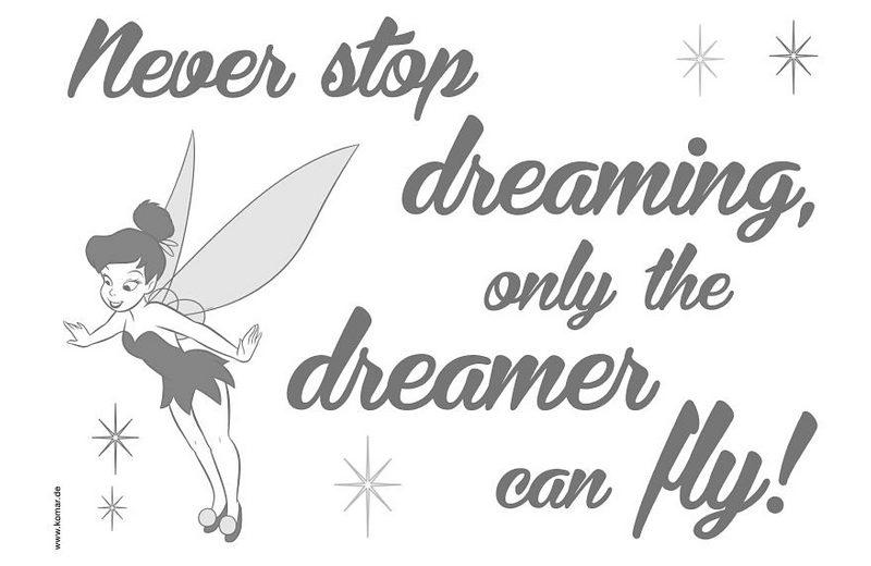 Decosticker, Komar, »Never stop dreaming«