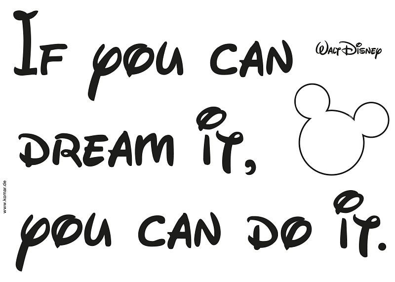 Decosticker, Komar, »! You can do it«