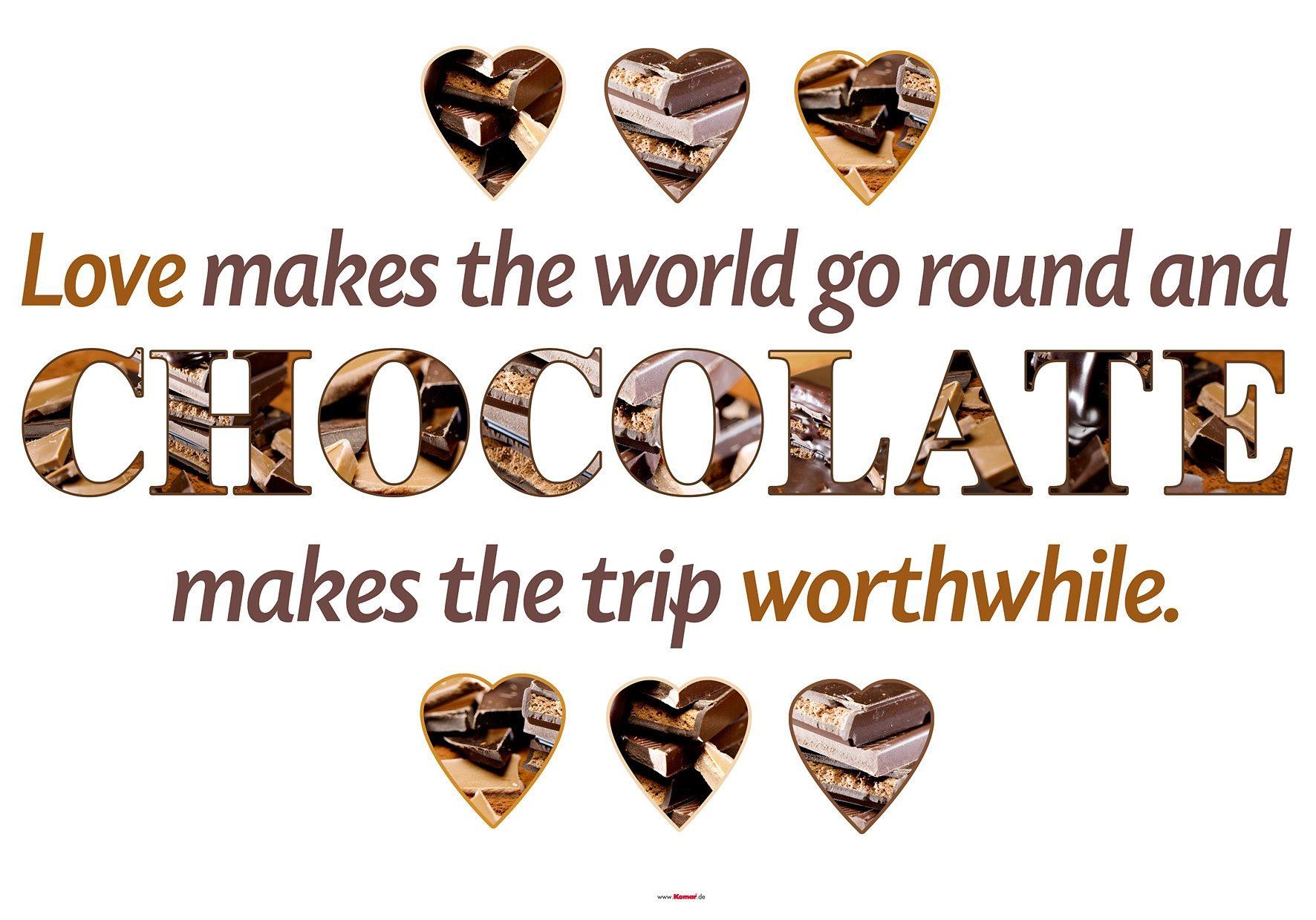 Decosticker, Komar, »Chocolate«