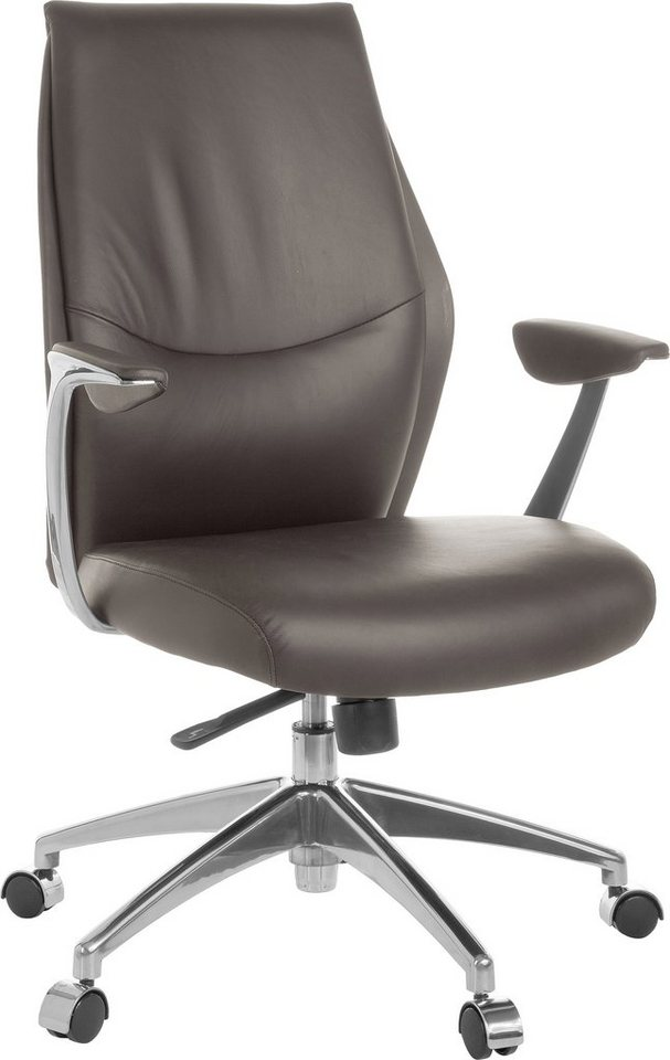Amstyle Chefsessel »Oxford 2« in braun