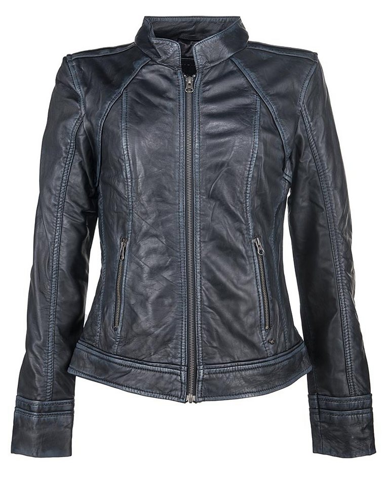 Mustang Lederjacke, Damen »Americana« in schwarz