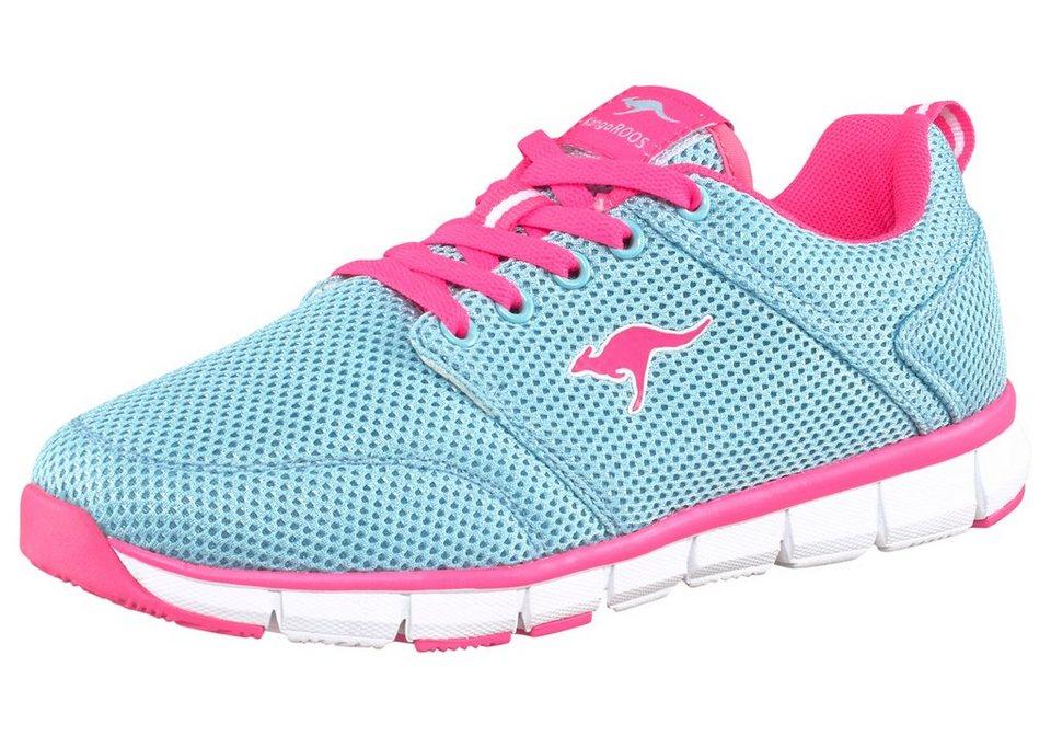 Kangaroos Floater Sneaker in Hellblau-Pink