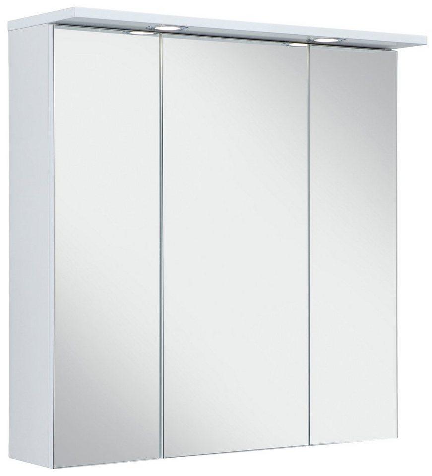 Schildmeyer Spiegelschrank »SPS 700.1 Spot« mit LED-Beleuchtung in weiß