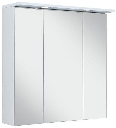 Schildmeyer Spiegelschrank »SPS 700.1 Spot« mit LED-Beleuchtung und 3 Türen