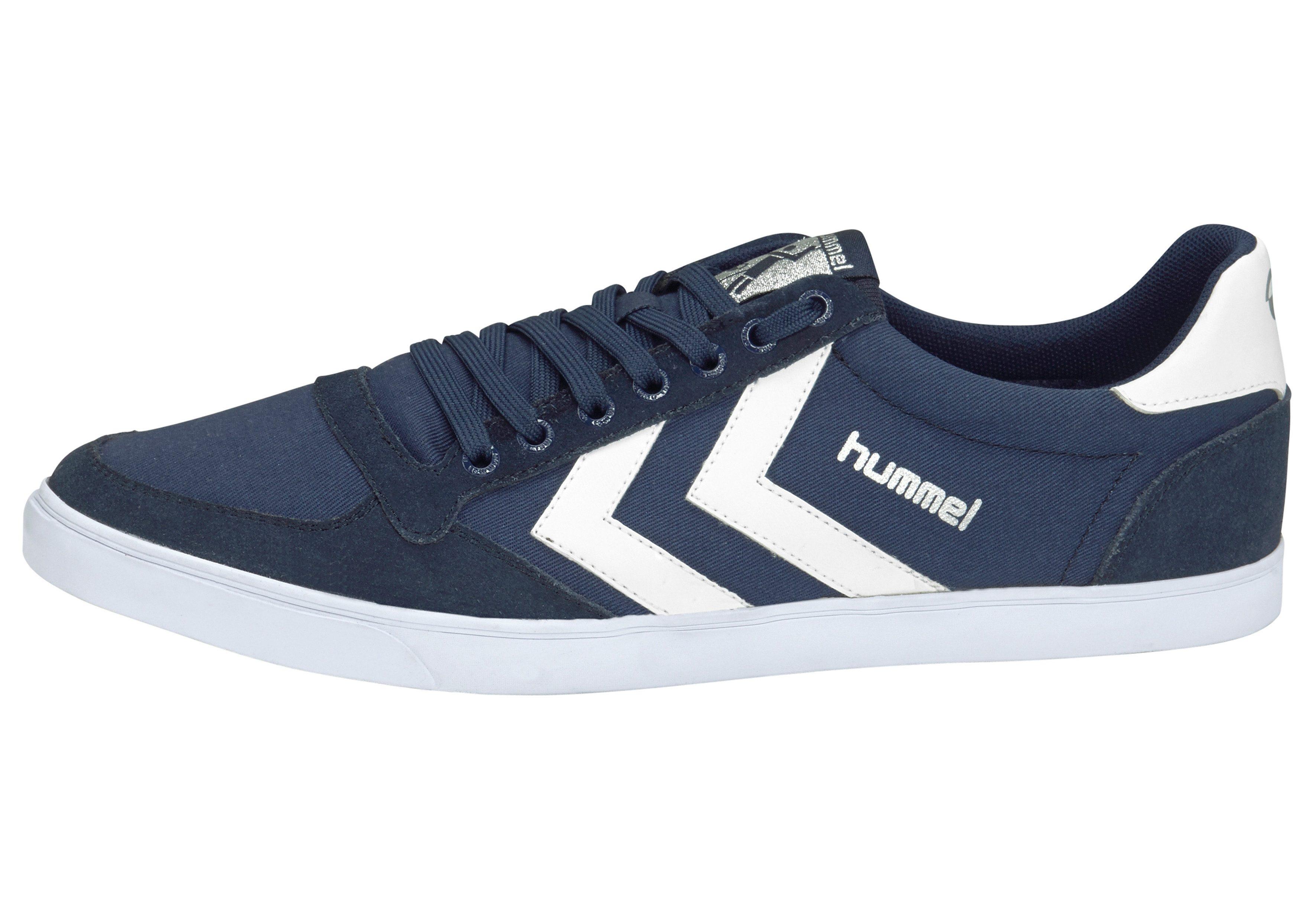 Hummel Slimmer Stadil Canvas Low Sneaker kaufen  marine-weiß