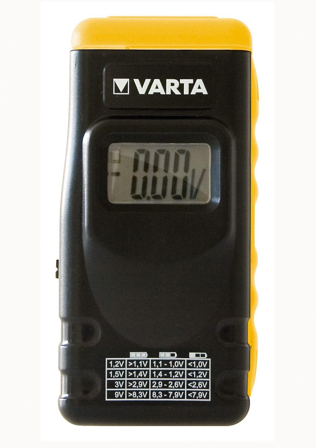Varta, Batterie-Tester, »LCD Digital Battery Tester 891«