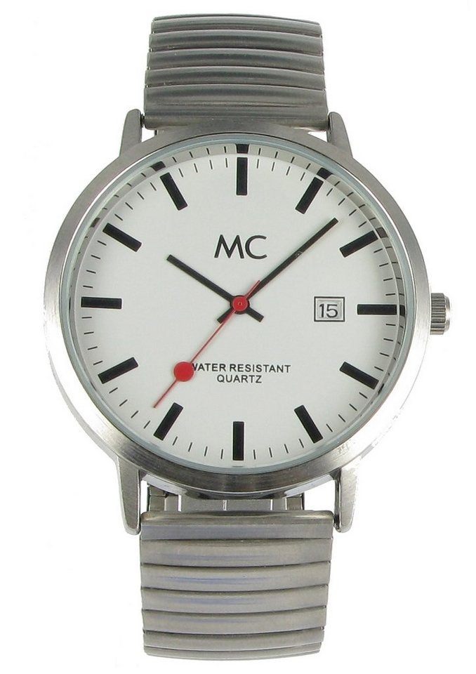 "MC, Armbanduhr, ""27679"" in silberfarben"