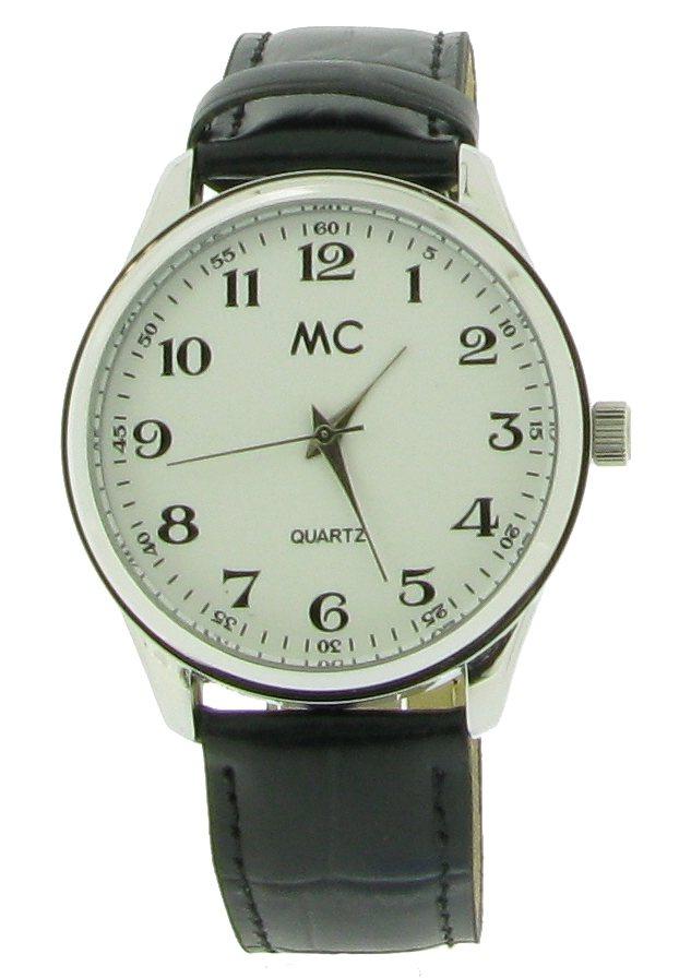 """MC, Armbanduhr, """"27658"""" in schwarz"""
