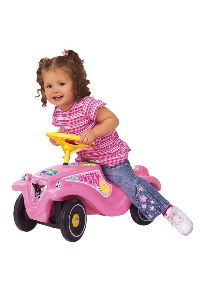 BIG Rutscherauto »Big Bobby Car Classic Girlie« in rosa