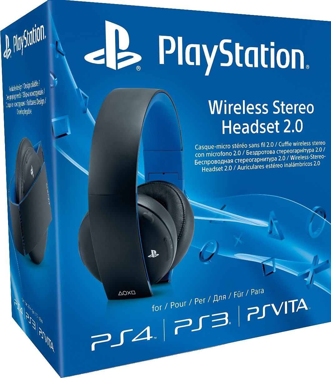 PS4 Wireless-Stereo-Headset 2.0