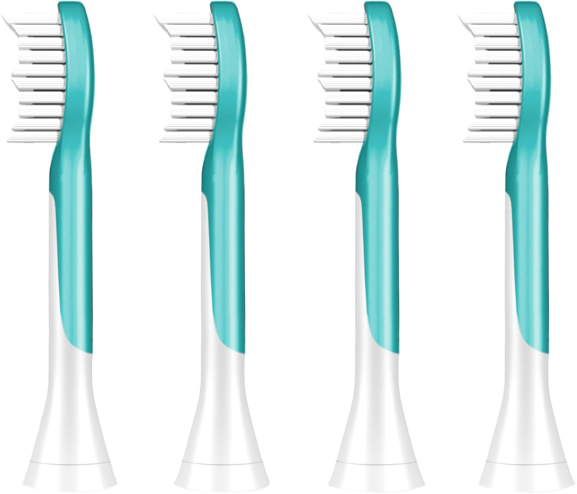 Philips Sonicare Ersatzbürsten HX6044/33 Sonicare For Kids, 4er Pack