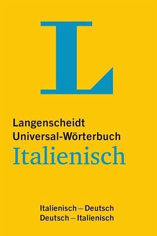 Buch mit Kunststoff-Einband »Langenscheidt Universal-Wörterbuch Italienisch«