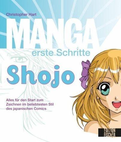 Broschiertes Buch »Manga erste Schritte Shojo«