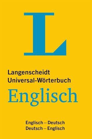 Buch mit Kunststoff-Einband »Langenscheidt Universal-Wörterbuch Englisch«