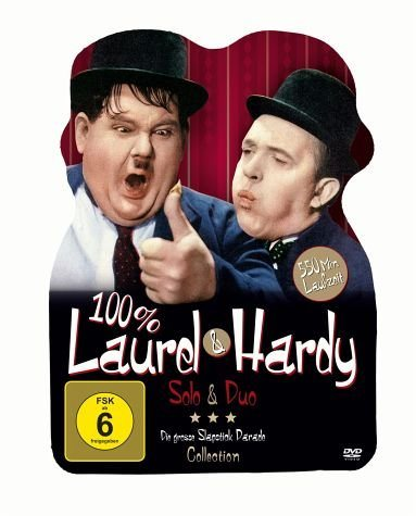 DVD »100 % Laurel & Hardy - Solo & Duo (2 Discs)«