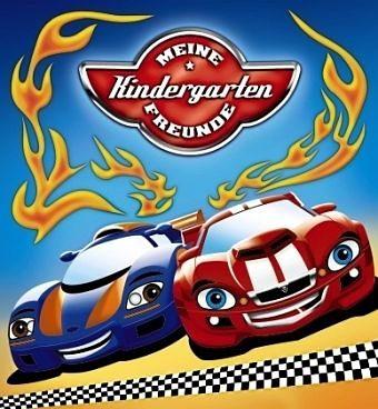 Gebundenes Buch »Meine Kindergarten-Freunde (Autos)«